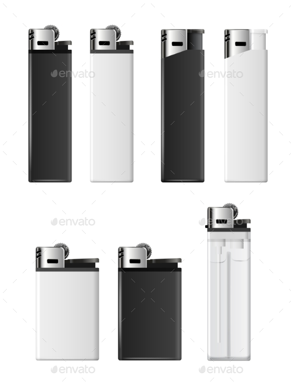 590x782 Vector Lighters By Iunewind Graphicriver