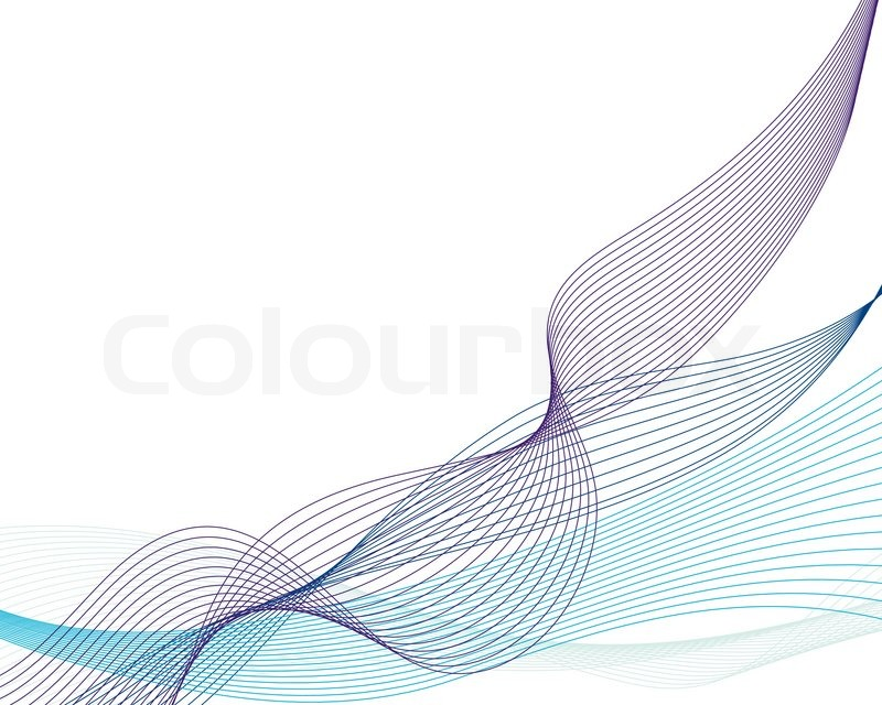 800x640 Abstract Water Lines Vector Background For Design Use Stock