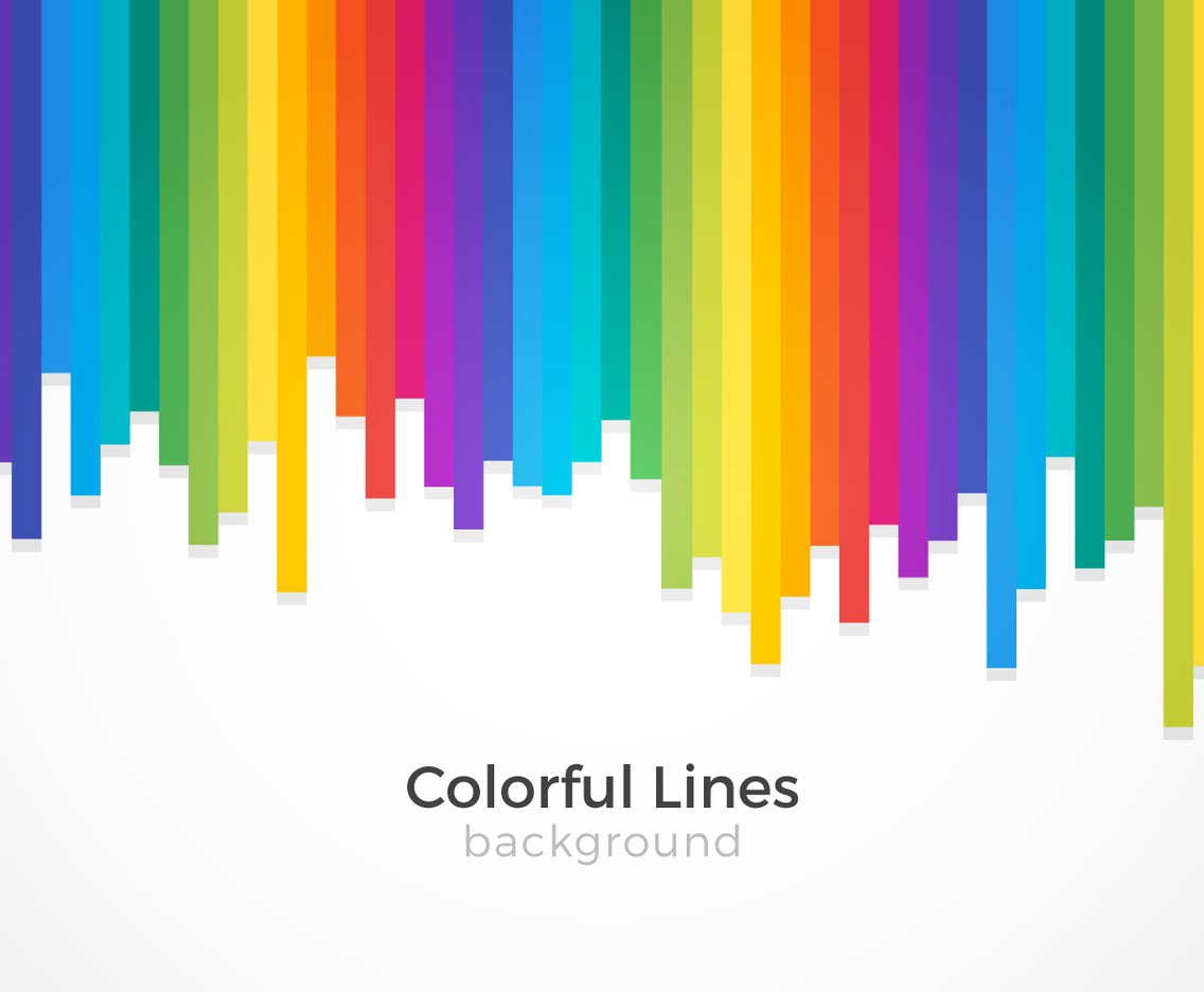 1136x936 Colorful Lines Background Vector Art Amp Graphics