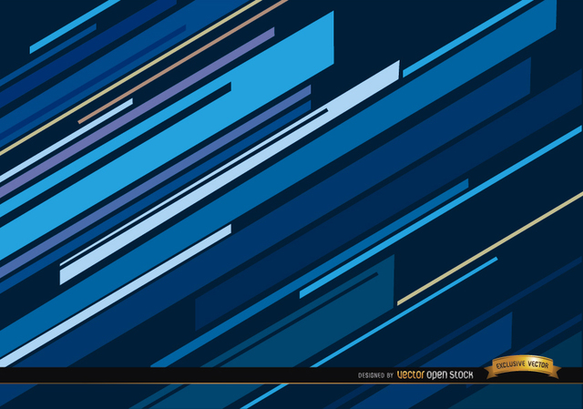 640x449 Free Vectors Abstract Blue Oblique Lines Background Vector Open