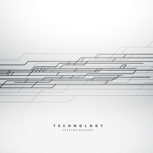 490x490 Abstract Technology Lines Background Vector Design Illustration