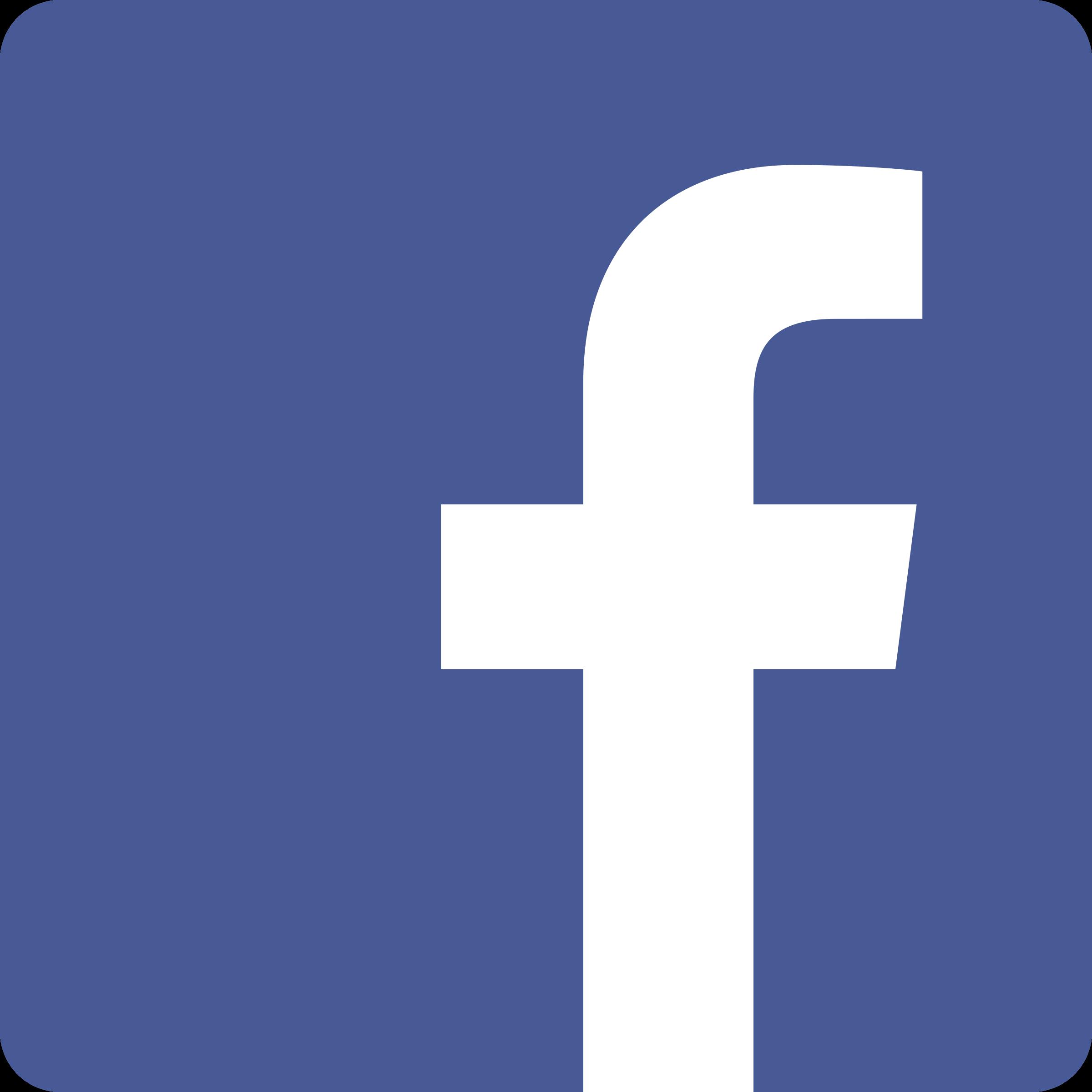 2400x2400 Facebook Icon Logo Svg Vector Amp Png Transparent