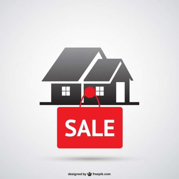 626x626 House For Sale Logo Vector Free Download