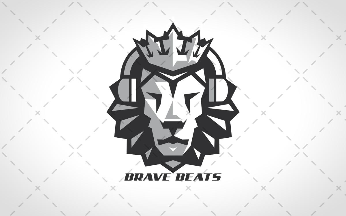 1200x750 Lion Head Logo Brave Beats Lion Head Logo For Sale