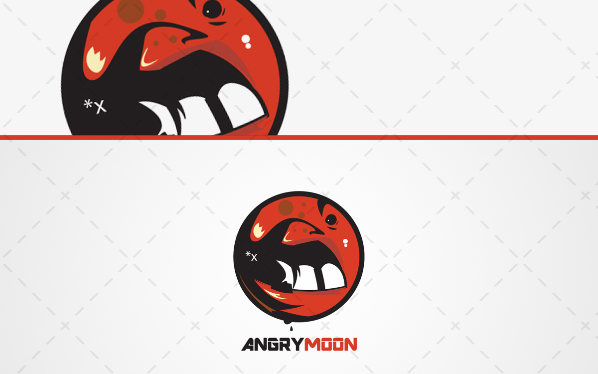 1200x750 Angry Moon Logo Unique Angry Moon Logo For Sale