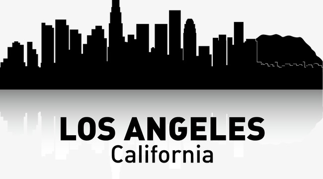 650x360 Los,angeles, City Silhouette, City, City Png And Vector For Free