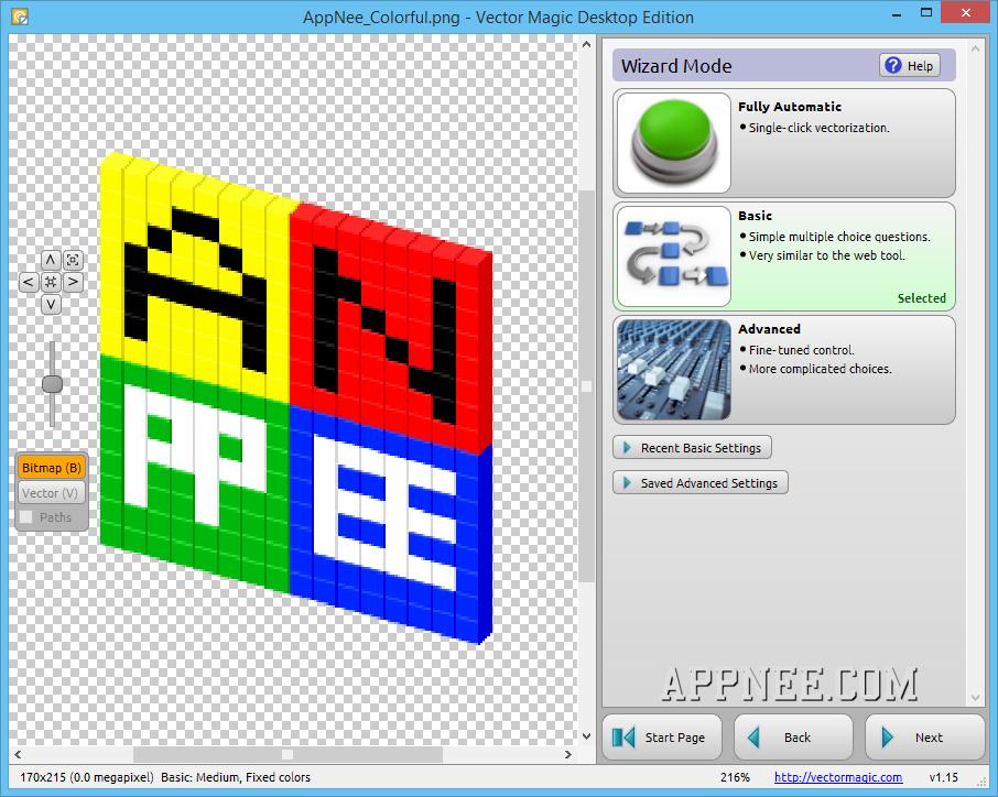 906x724 V1.15] Vector Magic Desktop Edition Vectorize Any Format Image