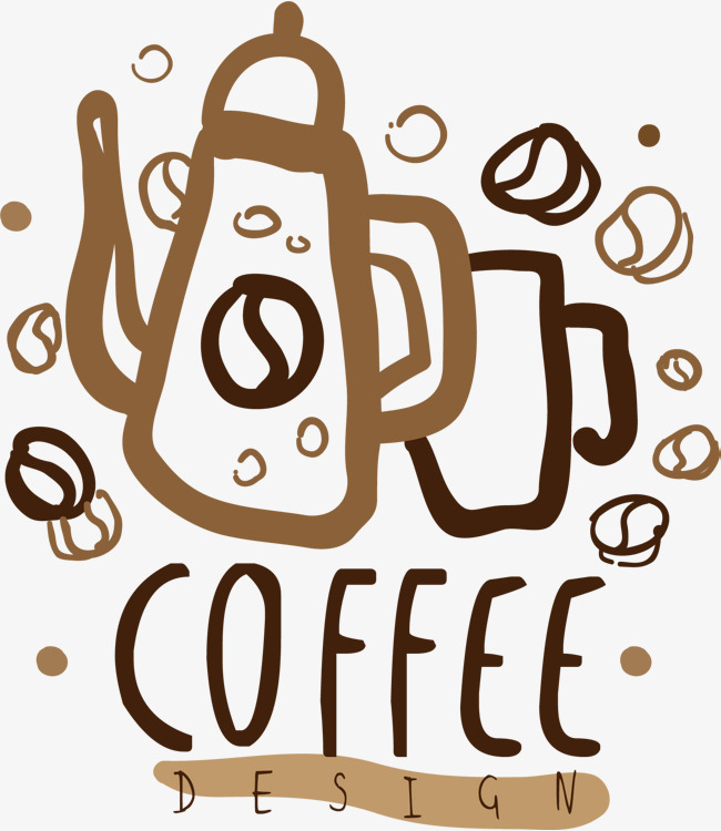 650x750 Vector Coffee Maker, Hand, Coffee, Word Art Png And Vector For