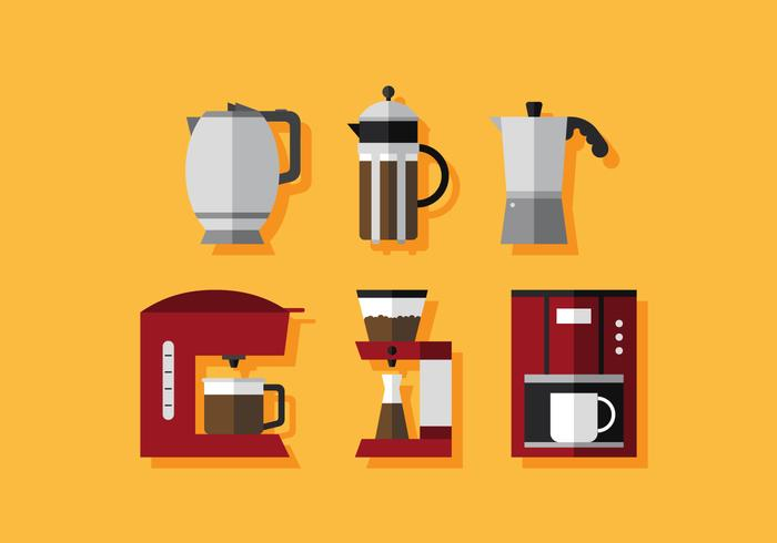 700x490 Vector Coffee Maker