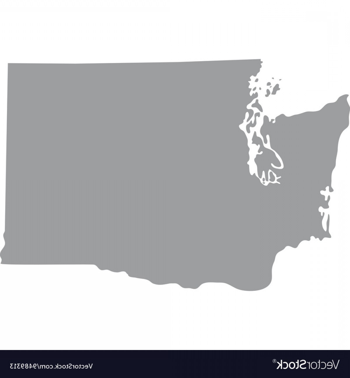 1200x1296 Us States Map Outline Vector Arenawp