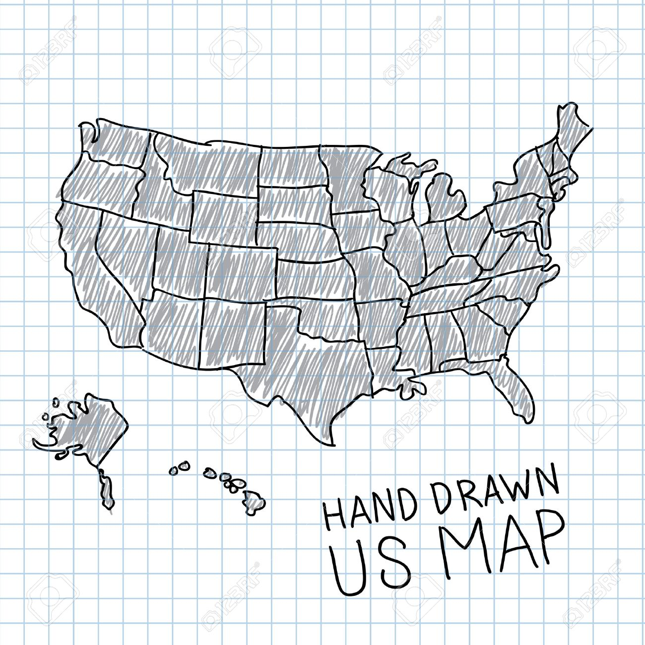 Vector Map Us at GetDrawings.com | Free for personal use Vector Map ...