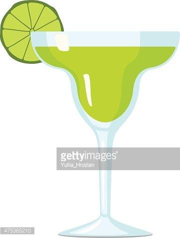 361x477 Margarita Cocktail Vector Illustration Premium Clipart