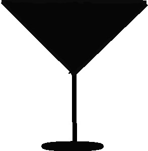 294x299 Margarita Glass Md Vector