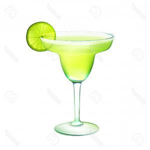 300x300 Photostock Vector Glass Cocktail Margarita Vector Icon