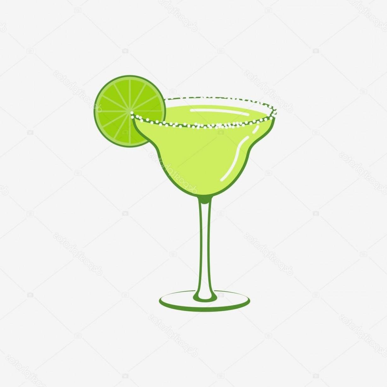 1228x1228 Stock Illustration Summer Margarita Cocktail Vector Logo Lazttweet