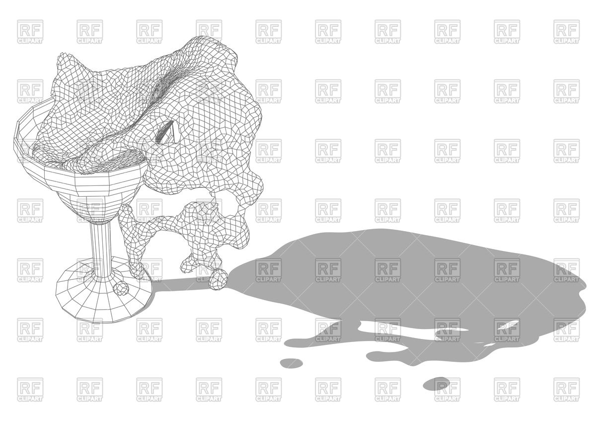 1200x853 Abstract Margarita Glass Vector Image Vector Artwork Of