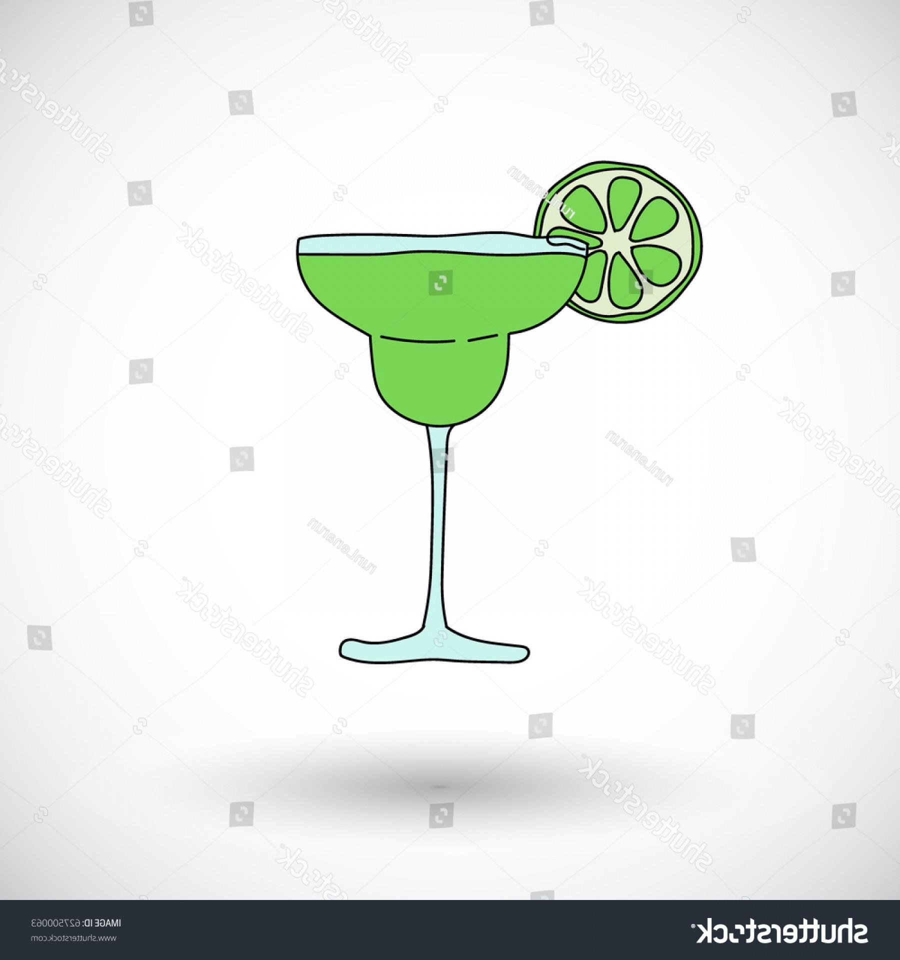 1800x1920 Cocktail Margarita Vector Cartoon Icon Round Lazttweet