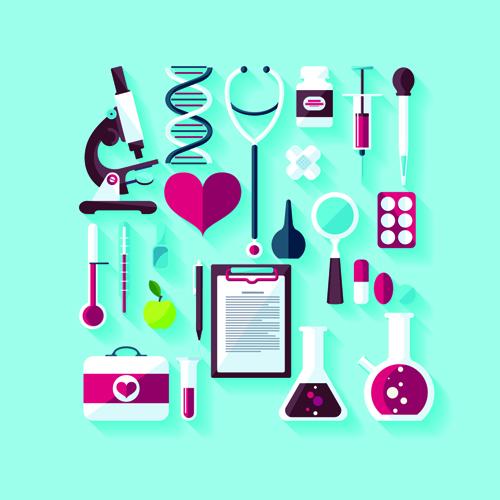 500x500 Creative Design Medical Tool Vector Material 05 Free Download