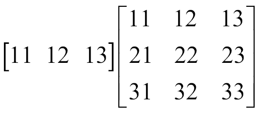 534x234 Vector Matrix Multiplication