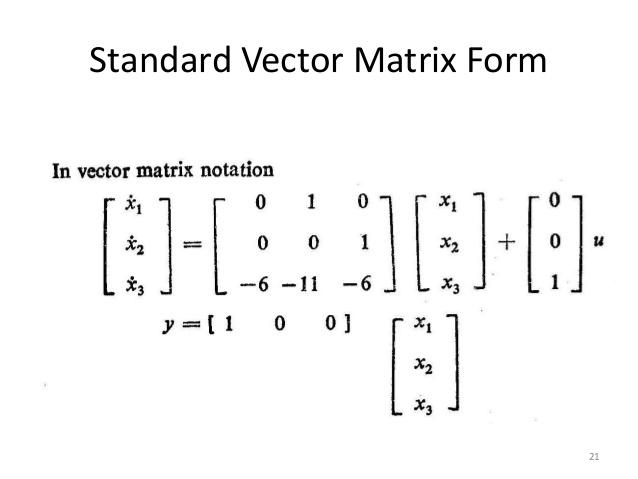 638x479 Vector Matrix Form