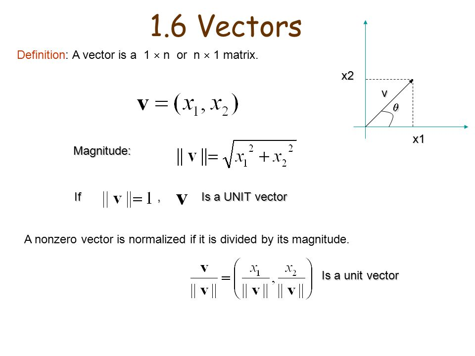960x720 Chapter 1 Matrices Definition 1 A Matrix Is A Rectangular Array