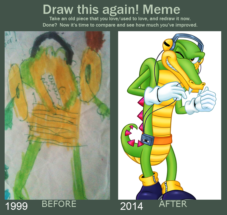 784x744 Draw This Again Meme Vector The Crocodile By Gothicraft