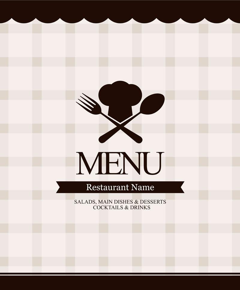 800x968 Restaurant (Cafe) Menu Vector Sources