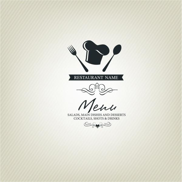 600x600 Restaurant Menu Design Free Vector In Adobe Illustrator Ai ( .ai