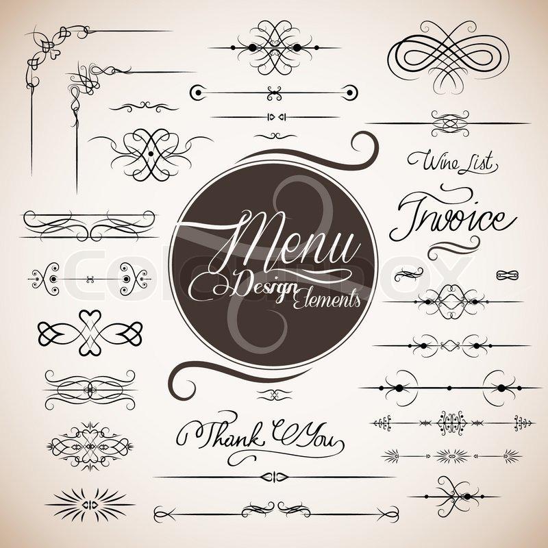 800x800 Restaurant Menu Design Template