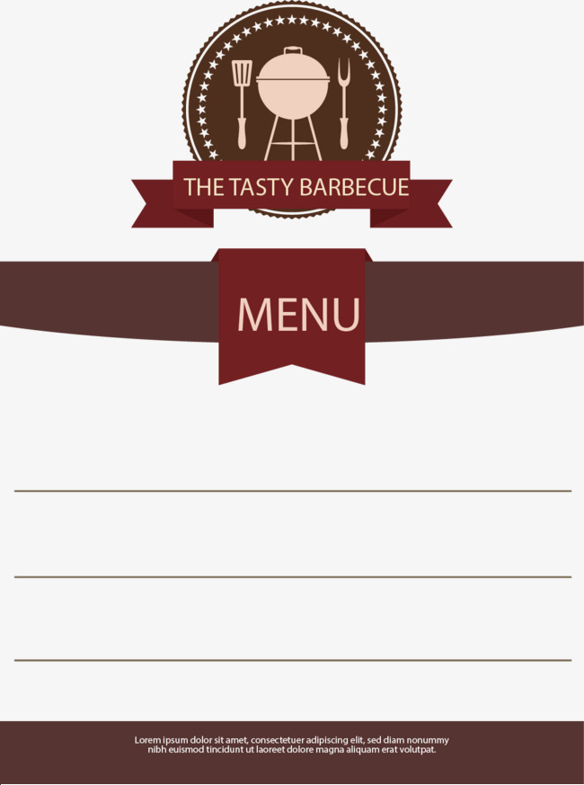 650x873 Vector Food Menu, Menu, Food, Restaurant Png And Vector For Free