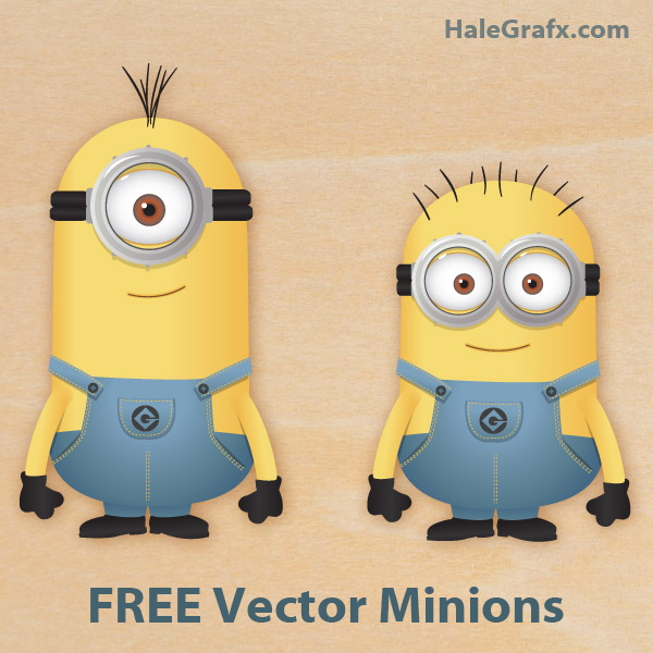 600x600 Free Vector Despicable Me Minions