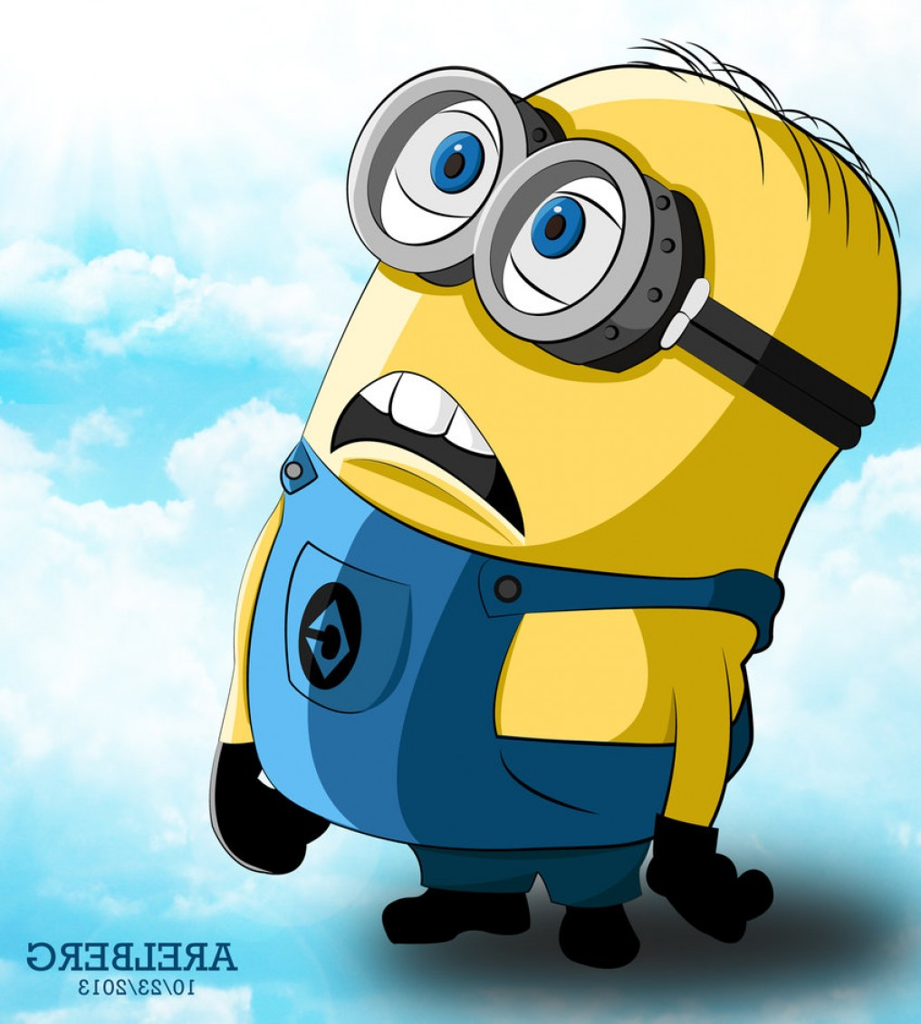 1017x1131 Minion Of Despicable Me Vector Art Shopatcloth