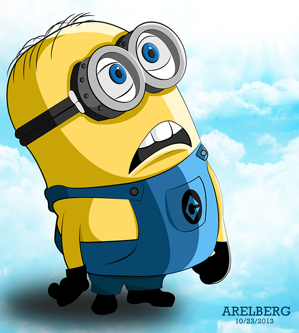 600x667 Minion From Despicable Me Vector Art On Behance