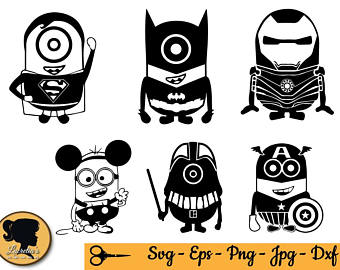 340x270 Minion Vector Etsy