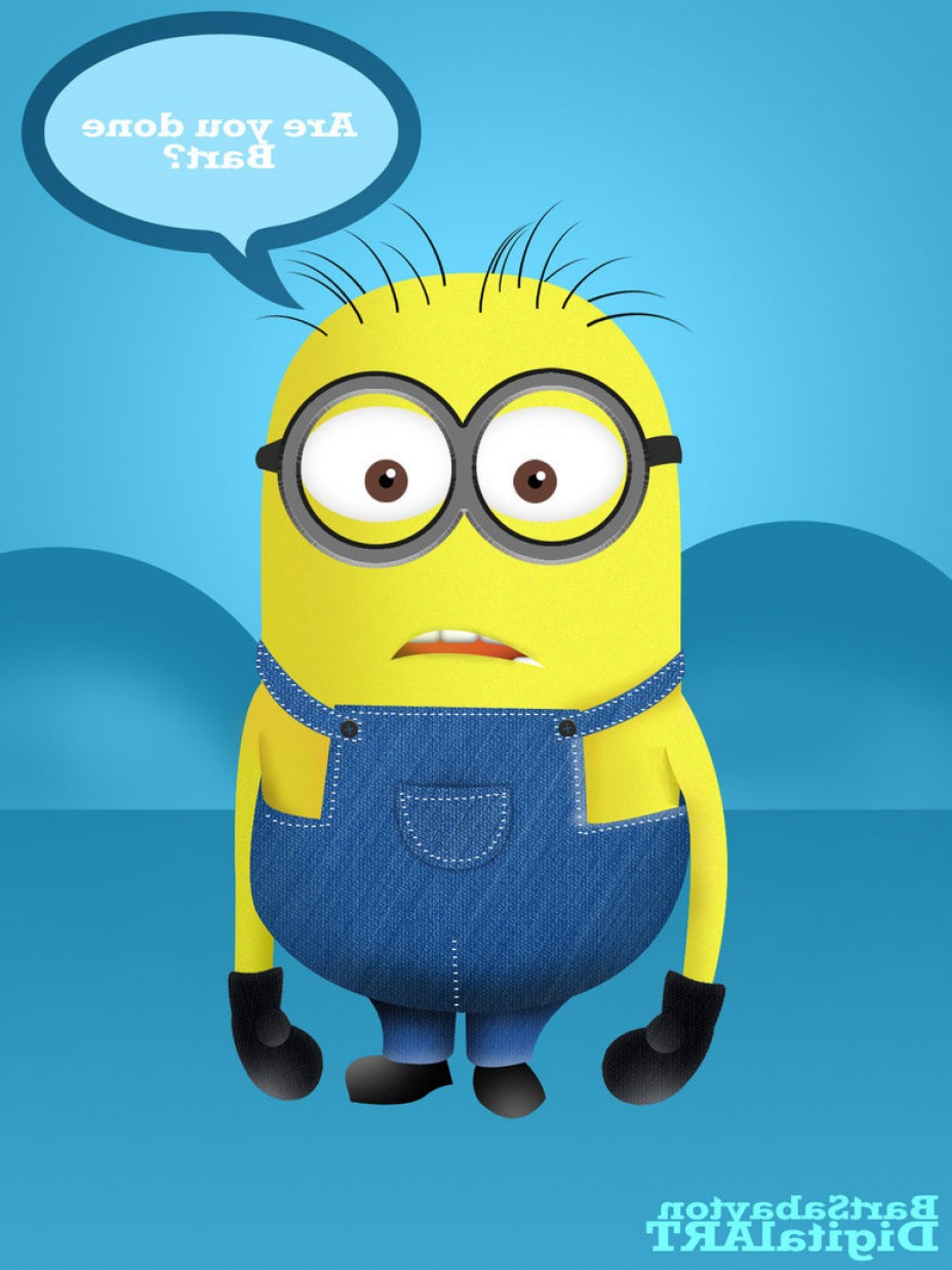 928x1238 Minions Despicable Me Pen Tool Vector Shopatcloth