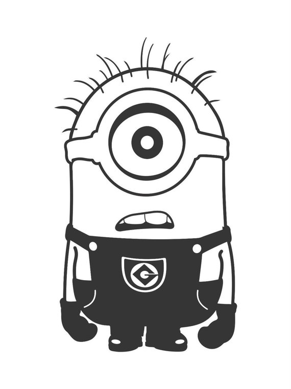 570x761 Minions Vinyl Ready Vector Collection Etsy