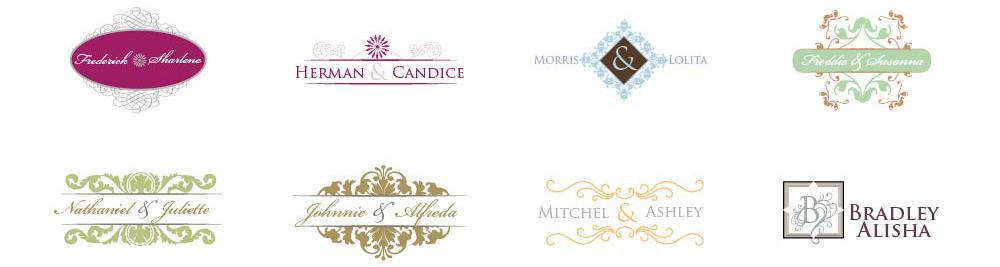 1000x267 Free Wedding Monogram Maker Designmantic The Design Shop