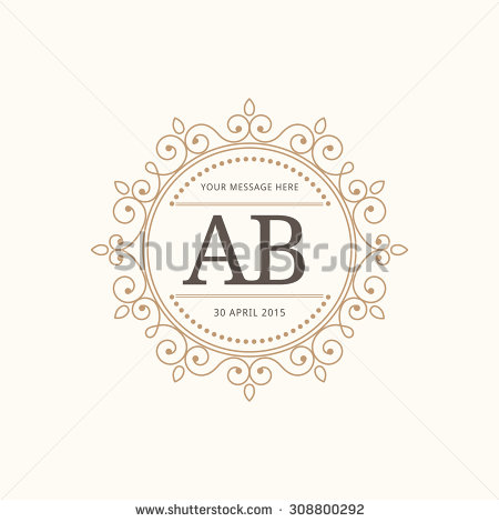 450x470 Wedding Monogram Maker Online Free Printable Unique Invitation