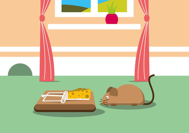 632x443 Mouse Trap Vector Illustration Free Vector Download 440135 Cannypic