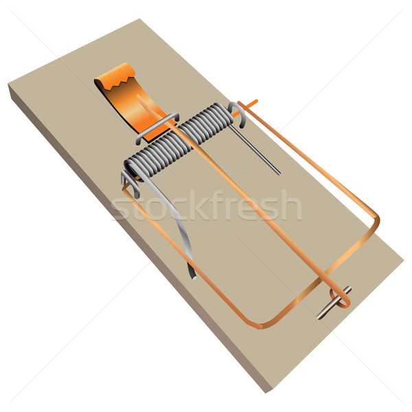 600x600 Mouse Trap Vector Illustration Kostyantin Pankin (Vipdesignusa