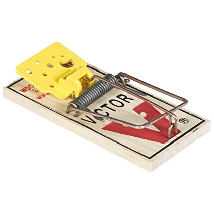 425x425 Victor Easy Set Mouse Trap 4 Pack M033
