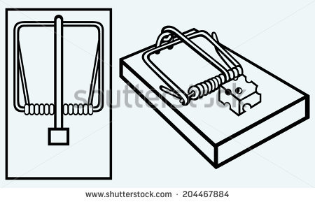 450x289 Trapped Clipart Mouse Trap