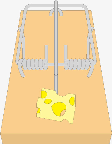 367x471 Cartoon Vector Mousetrap Cheese, Cheese, Mouse Trap, Mousetrap