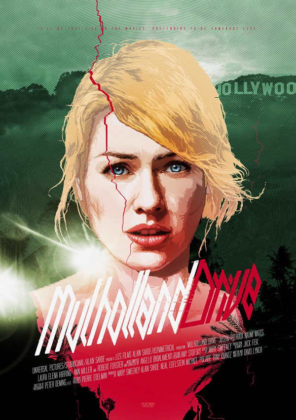 600x851 Mulholland Drive Vector Movie Posters Vol.2