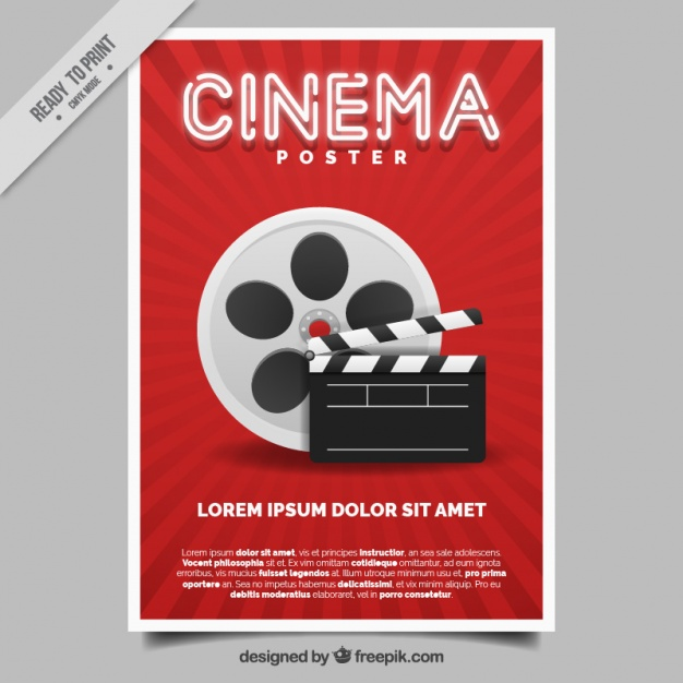 626x626 Movie Poster Vector Free Download