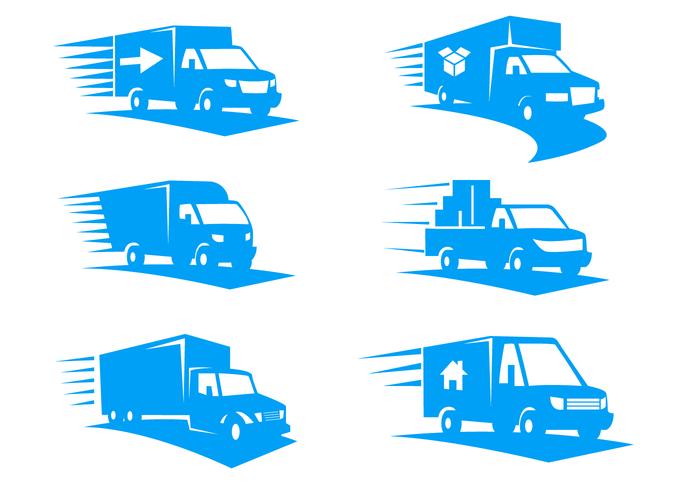 700x490 Moving Van Logo Vector