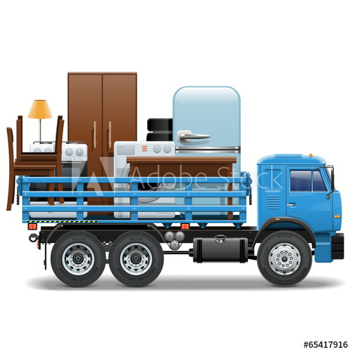 500x500 Vector Moving Concept