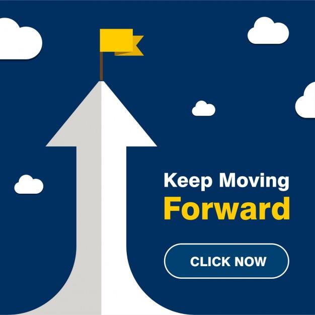 626x626 Keep Moving Forward Vector Free Download