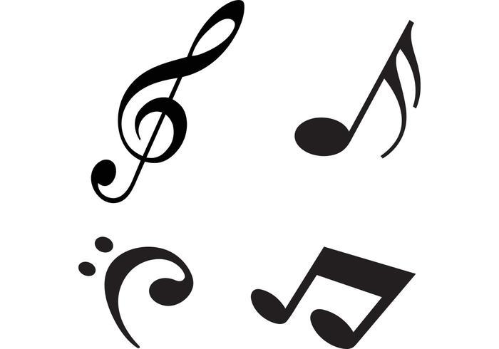 700x490 Modern Music Notes Vectors