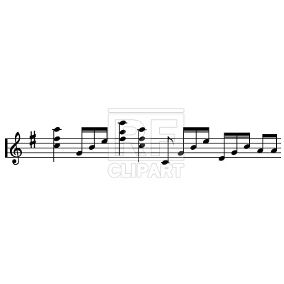 400x400 Music Notes Free Vector Image Vector Artwork Of Signs, Symbols